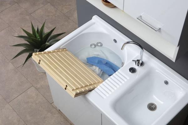 Lavatoio automatico di Colavene Active Wash 100 cm sopra