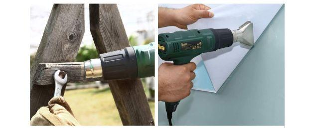 Among the many uses of the TECPPO heat gun there is also that of silicone removal