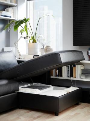 Arredo soggiorno, soluzioni con divano IKEA