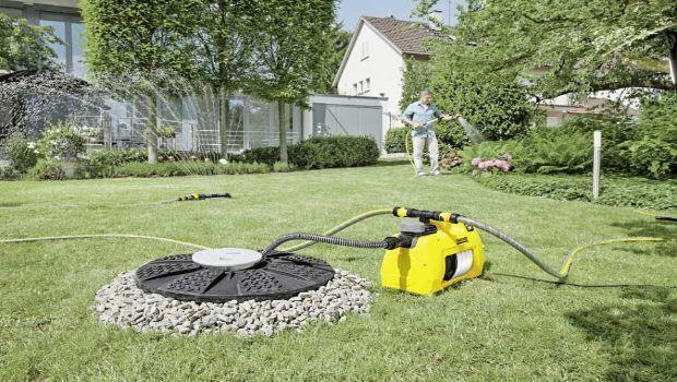 Irrigazione e pulizia assicurata con le elettropompe