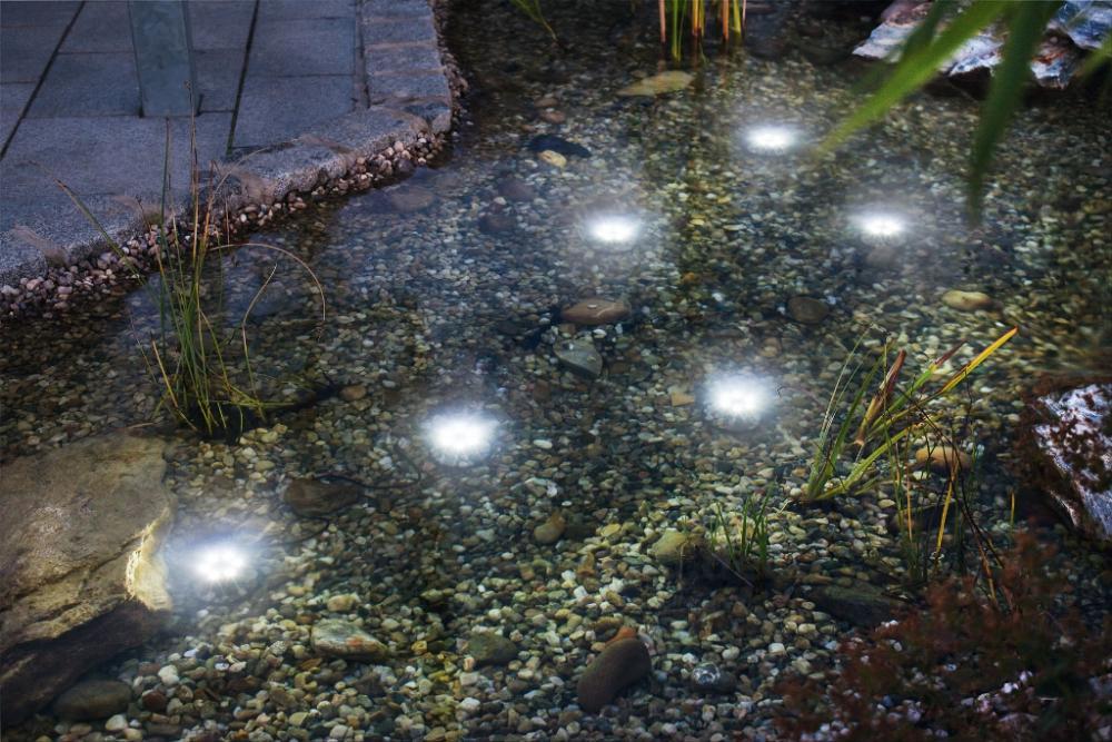 Super Splash, luce per laghi