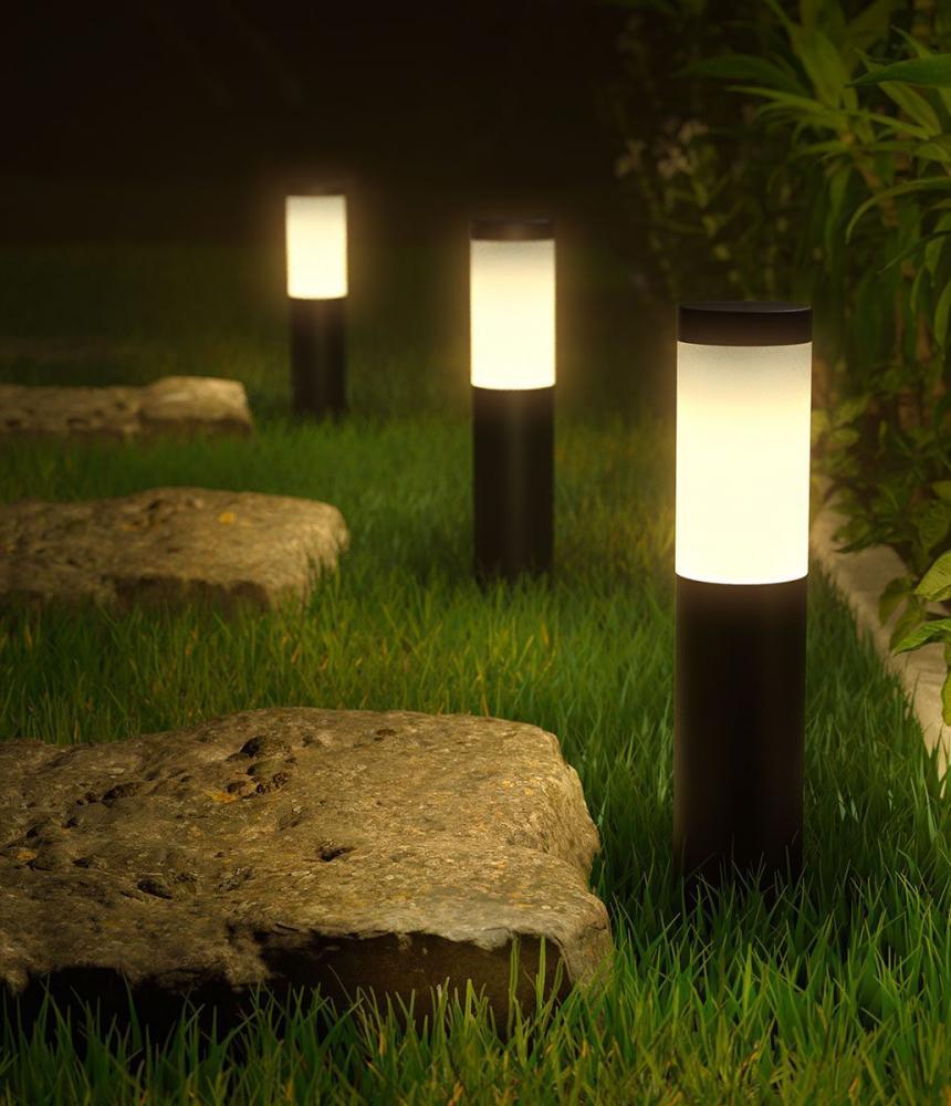 Outdoor Smart Pedestal Light Colour