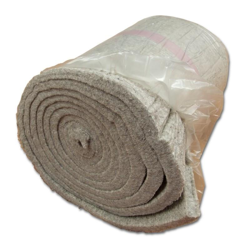 Isolamento termico sottotetti: materassino di lana di pecora Artemestieri