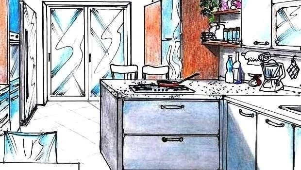 Progetto cucina 13 mq: come strutturare spazi funzionali