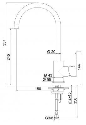 Schema tecnico del modello MAYA della Delò
