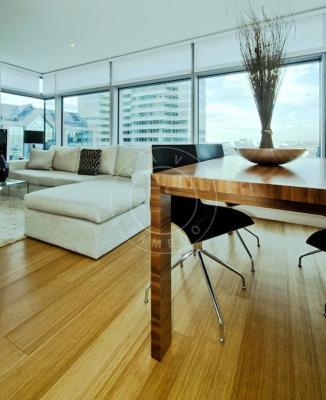 Pavimento in bamboo verticale classico, Pavibamboo