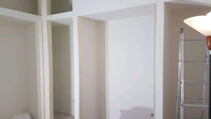 Cabina armadio cartongesso - Melotti