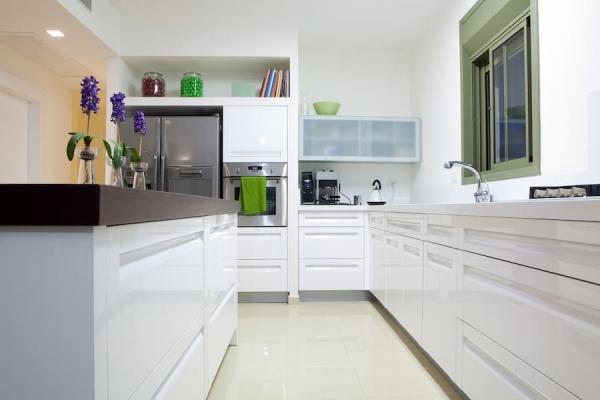 La cucina è un'altra stanza molto colpita dall'umidità