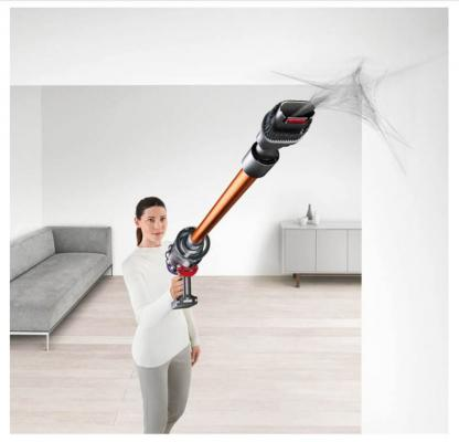 Con i compnenti aggiuntivi si può raggiungere qualsiasi punto della casa. By Dyson