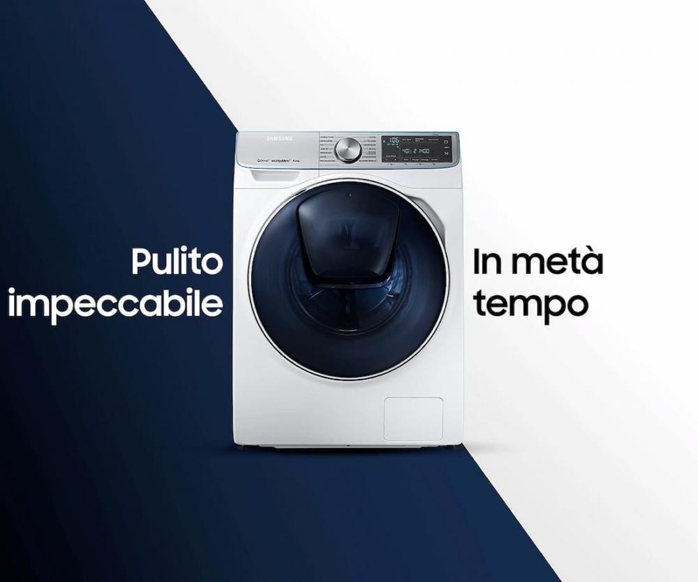 Lavatrici Smart by Samsung, Quickdrive