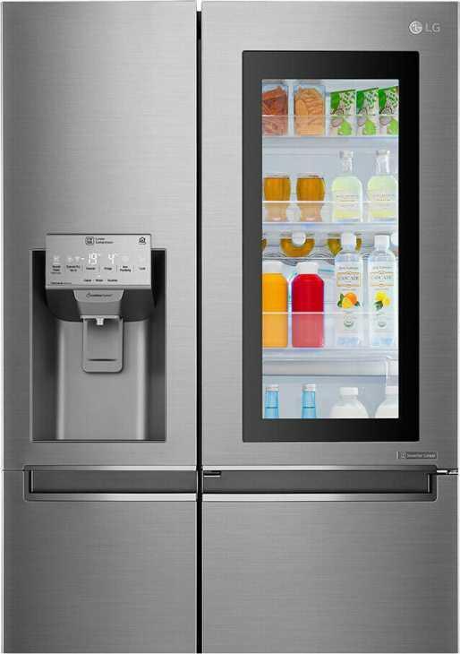 Smart Side dy Side fridge by Lg