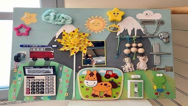 Pannello sensoriale Montessori: come costruirlo in fai da te