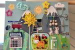 Pannello Montessori fai da te, fase 4