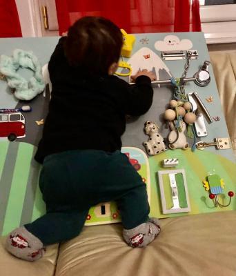 Il pannello Montessori di Silvia Facchini