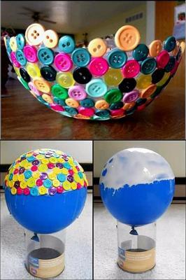 Centrotavola palloncini, da koottukari.com