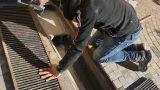 Fermare le infiltrazioni dalla griglia di scolo