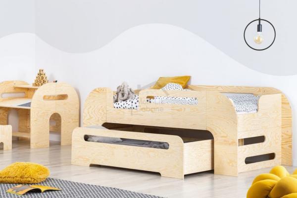 I letti a cassettone di Mon Lit Cabane ottimizzano lo spazio