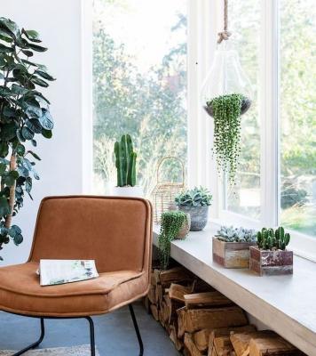 La finestra è visibile dall'esterno e dall'interno e va arredata con cura - Pinterest