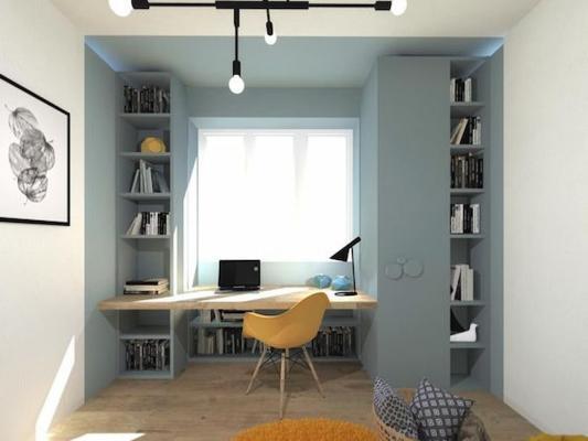 Il davanzale può essere ottimo per appoggiarci la scrivania - Pinterest