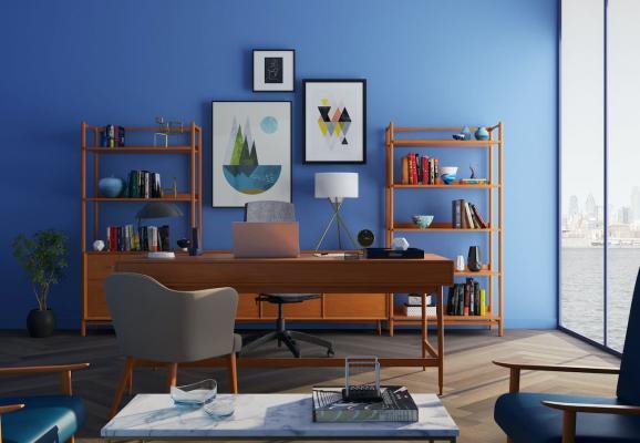 I libri e libreria che li contiene sono un elemento caratterizzante in una stanza