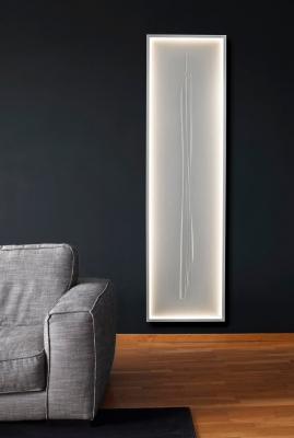 Radiatore ROC ZEN LED bianco - Foto by Cinier