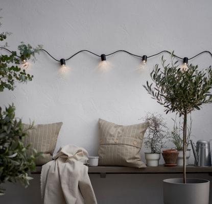 Festholmen, fodera cuscino impermeabile in nuance beige - Foto: Ikea