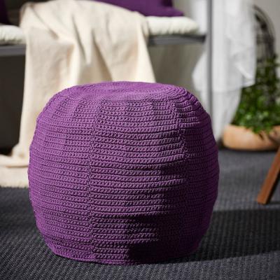 Otterön/Innerskär, pouf da esterni viola - Foto: Ikea