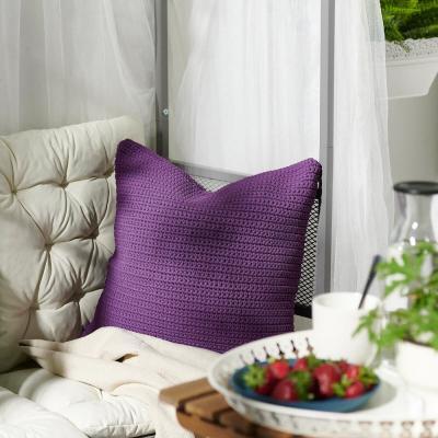 Sötholmen, fodera cuscino per esterni, viola - Foto: Ikea