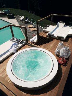 Minipiscina da terrazza Minipool - Foto: Zucchetti Kos