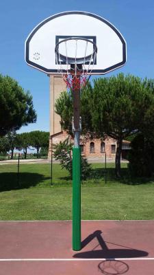 Protezione Giwa su un canestro da basket