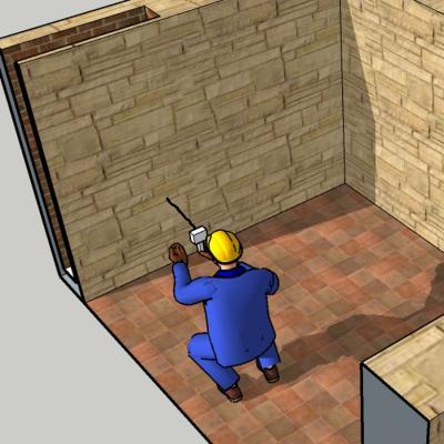 Endoscopia Edile ispezione cavedio nascosto
