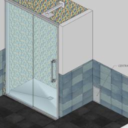 Piatto doccia da restringere a causa di centralina laterale