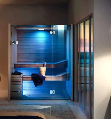Sauna Sky Glass cromoterapia Effegibi