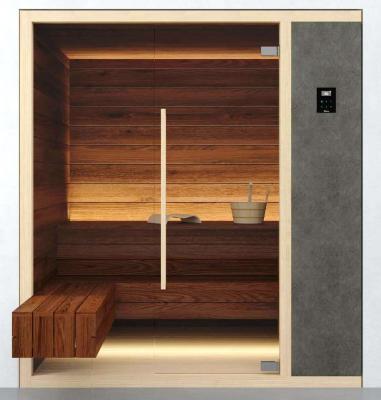 Sauna nicchia verticale by Albatros