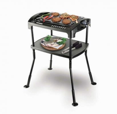 Telefunken M06474 Barbecue Elettrico 2000W Con Gambe E Ripiano Mo6474