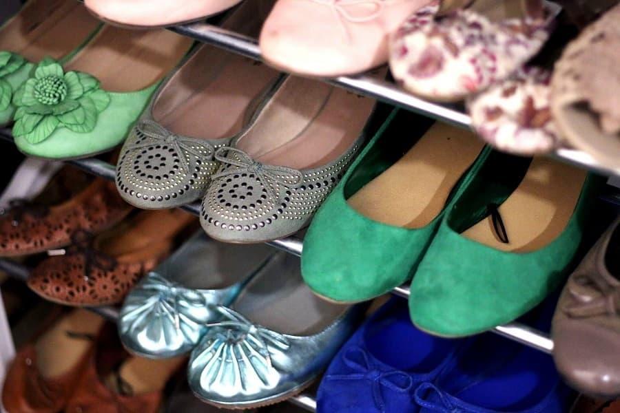 Mettere in ordine scarpe