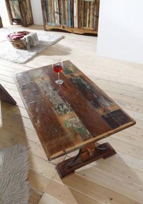 Tavolino in legno ricilato MassiccioMobili24