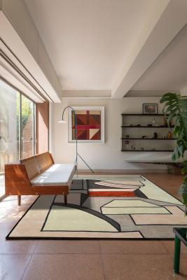Tappeti moderni, collezione Matteo Pala, modello Triplia