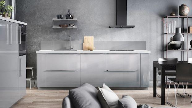 Cucine moderne senza pensili: design e funzionalità