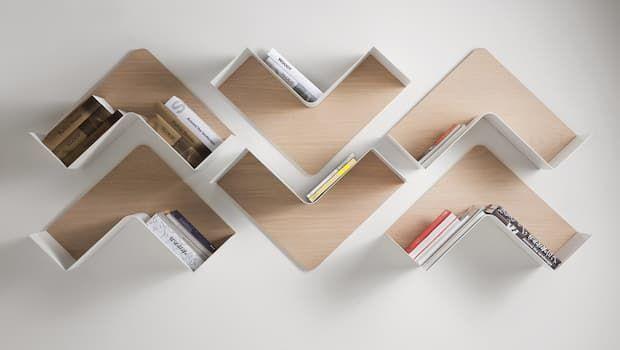 Mensole di design per personalizzare e rendere funzionali anche le pareti