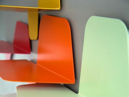 Mensole di design colorate, Memedesign, Flap
