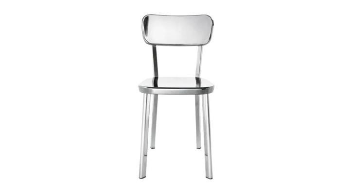 Sedie alluminio Dejavu chiaro Magis design