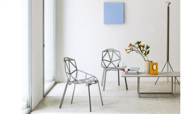 Sedie alluminio Chair One Magis design ambiente