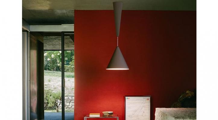 Sospensioni LED Diabolo grigio Flos