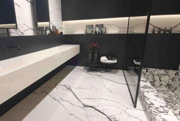 Bagno controparete con nicchia - Pellizzari