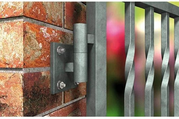 L'ancorante chimico è l'ideale per fissare un cancello esterno