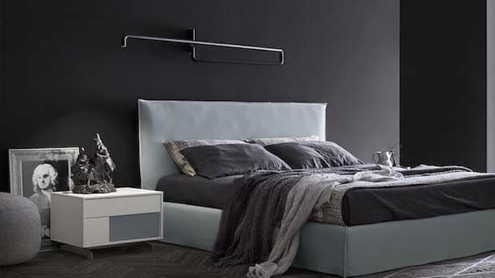 Camera da letto nera mobili Zanette