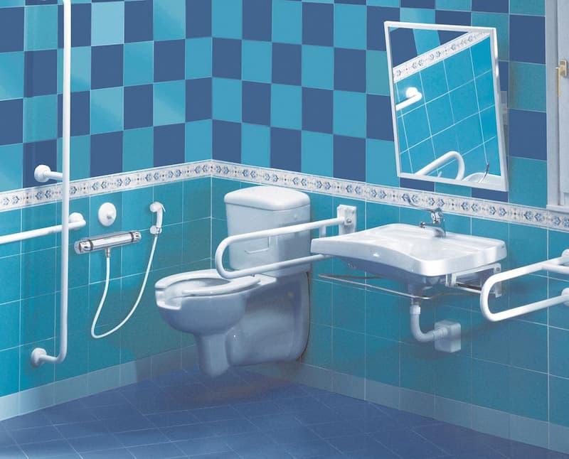 Ducha asistida, modelo LIBERTY, auxiliares de baño para minusválidos y ancianos