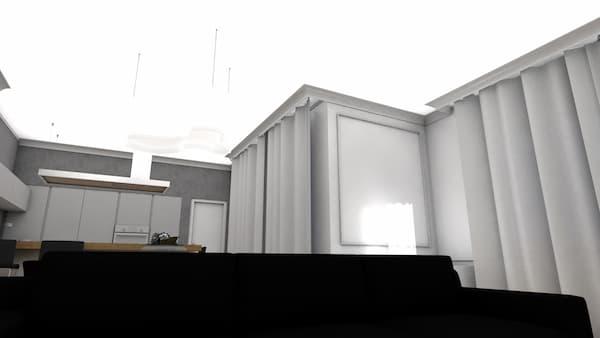 Repisa que cubre la barandilla - Restyling por Caterina Scamardella Architect