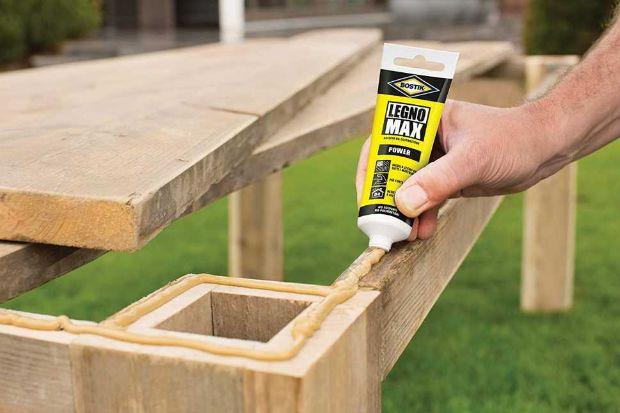 BOSTIK polyurethane adhesive ideal for outdoor use